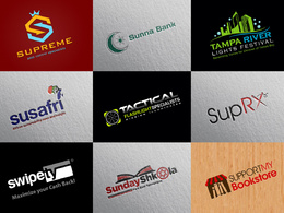 Premium logo design + Unlimited Concepts & Revisions + FREE Stationery