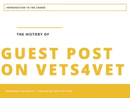 Guest post on vets4vets.us