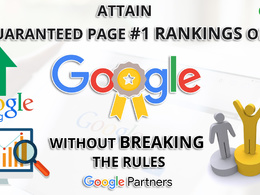White hat SEO + Organic SEO ranking - Guaranteed Results