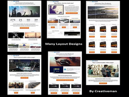 Create the BEST social media landing page with 6 features