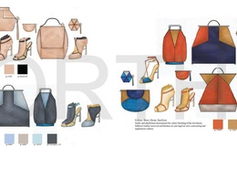 Provide professional technical drawing for fashion products