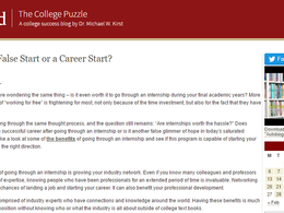 Guest Post on CollegePuzzle.Stanford.edu