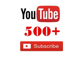 Add 500 genuine YouTube subscribers to your channel