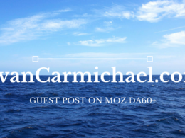 Guest post on EvanCarmichael.com DA60+