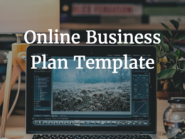 Send a business plan to start an online business