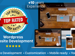 Design and develop mobile friendly Wordpress website