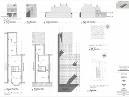 Create drawing for planning, existing and proposed.