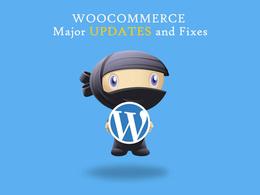 Woocommerce Major Update bugs fixes