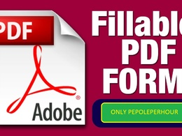 Create & edit a PDF form in a fallible PDF