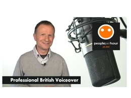 Record a professional British Male BBC style voice over