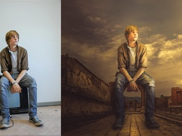 Do 1 Photo Manipulation with 3 photos