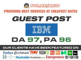 Publish Guest post on IBM| IBM.COM