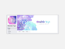 Design a Social Media cover image and profile picture