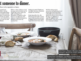 Create a professional magazine quality print ad with copy