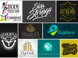 Design logo modern unique logos  SOURCE FILES