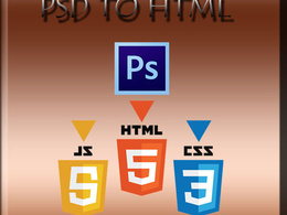 Psd to responsive HTML5 +CSS3 Incl. JS [From No.1 Programmer in PPH]