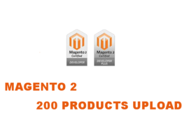 Upload 200 Products into Magento 2