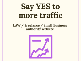 Publish a guest post on a law / small business authority website