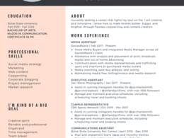 Redo your resume to make you stand out against the competition