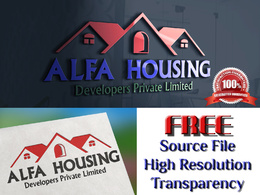 Create awesome Property Logo with in 24 hours with free source files