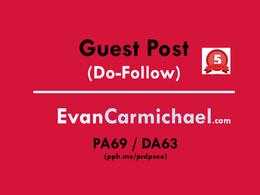 Publish a guest post on EvanCarmichael - EvanCarmichael.com (Do-Follow)