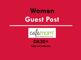 Publish a guest post on women site - CafeMom.com - DA76 (DoFollow)
