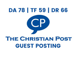 Publish a guest post on The Christian Post - DA78, TF59, DR66