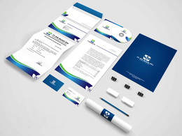 Do Amazing  STATIONERY Design For Your Business Promote with Print files.