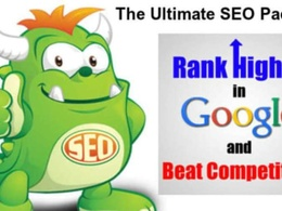 Deliver Ultimate OFF PAGE SEO to Rank Site on PAGE #1 of Google