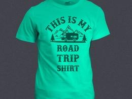 T-shirt Design for Printing or Screen Printing