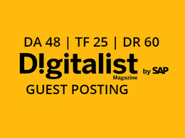 Publish a guest post on Digitalist Magazine - DA48, TF25, DR60