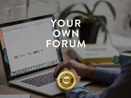 Create your own full-featured Forum