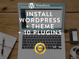 Install your Wordpress + Theme + 10 essential Plugins