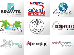 Design you a professional logo with unlimited tweaks and revisions