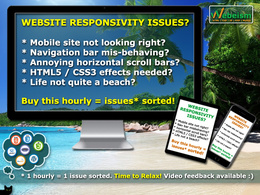 Fix your HTML5 / CSS3 / Javascript / JQuery responsive issues!