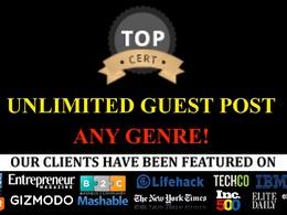 Premium Guest post on appspctube.com