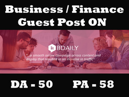 Publish guest post on BDaily DA 50