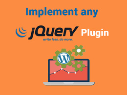 Implement any jQuery plugin on your website