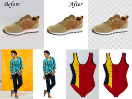"Background Remove/Cut Out 60-100 images for ""E-Commerce Website"""