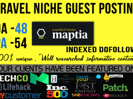 Write and Publish Guest post on Maptia.com with a Do-Follow Link