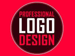 Professional & Unique Logo Design + Free Favicon + Source Files