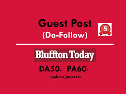 Publish a Guest Post on blufftontoday.com (Do-Follow)