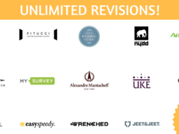 Design a stunning logo with Unlimited Revisions