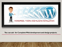 Install WordPress with theme and its demo content and plugins installations