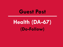 Guest Posting on Health Website DA60+