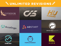 Design the perfect company logo with unlimited revisions!