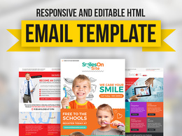 Design and Code Responsive HTML Email Template, Email Newsletter or Email Campaign