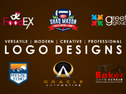 Do 6 logo concepts + Vector + Source file + Unlimited revisions