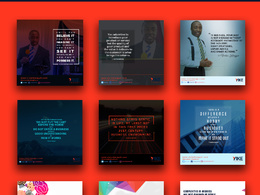 Design 15 social media graphics