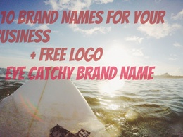 Suggest You Brand Names For Your Business